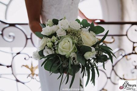 bouquet de mariée, mariage, metz, effleurs