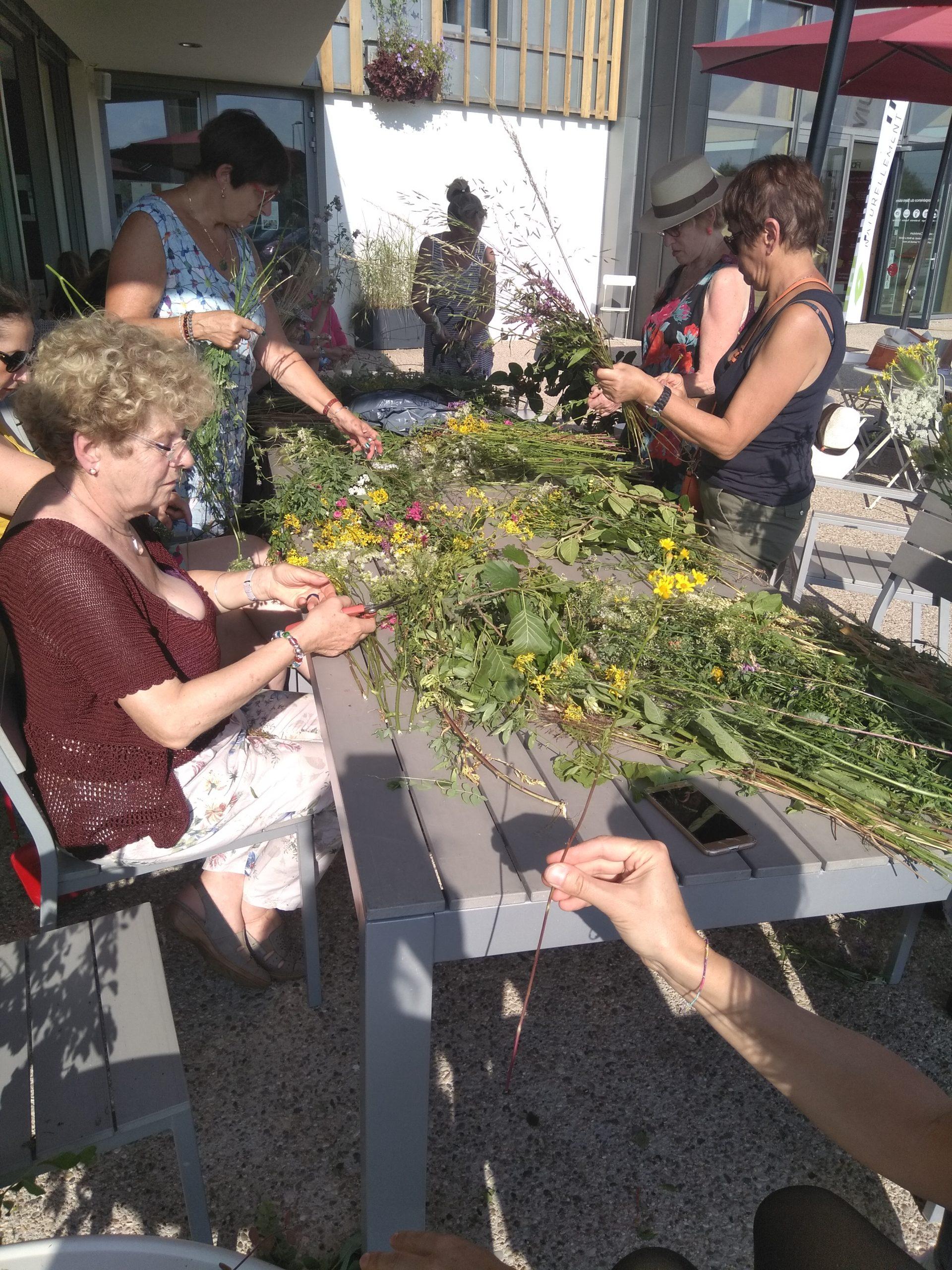 bouquet de fleurs atelier creation fleuriste woippy effleurs