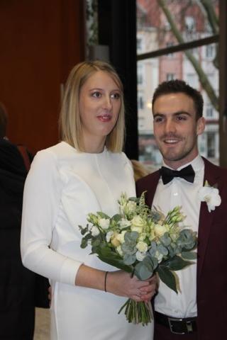 bouquet de mariee justine mariage civil fleuriste metz