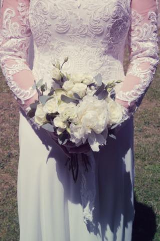 bouquet de mariee loriane blanc pivoine fleuriste nancy effleurs