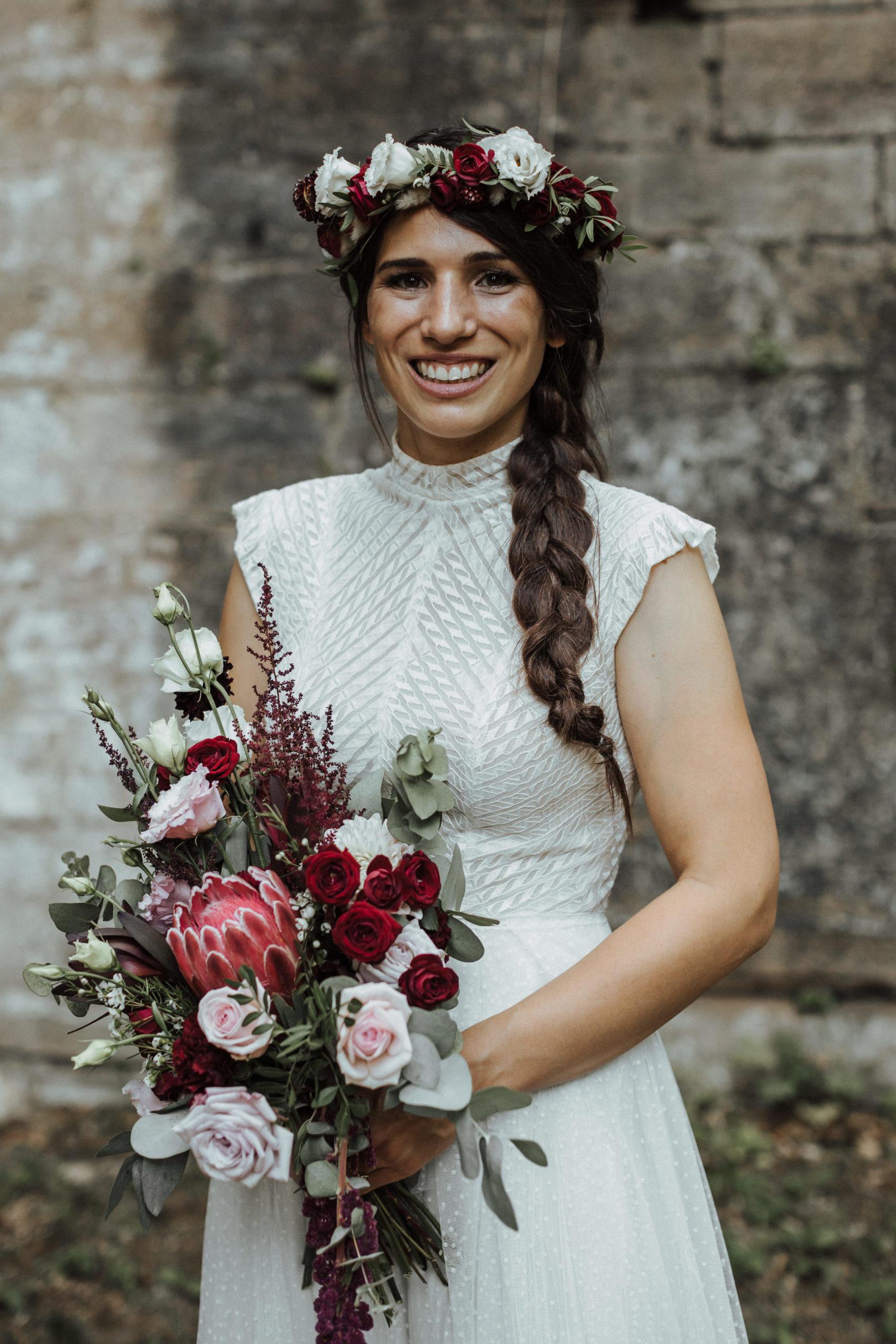 bouquet de mariee mariage marne effleurs