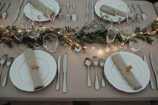 centre de table feuillage ecoresponsable fleuriste effleurs