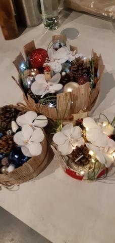 centre de table noel atelier fleuriste woippy effleurs