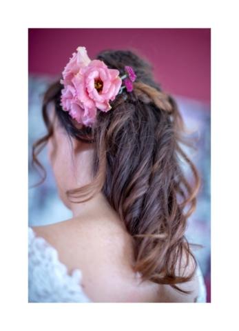 couronne de fleurs cheveux mariage metz effleurs