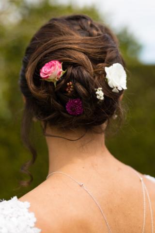 couronne de fleurs mariage moselle effleurs