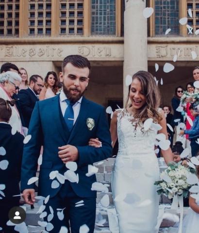 décorations florales boutonnieres mariage effleurs