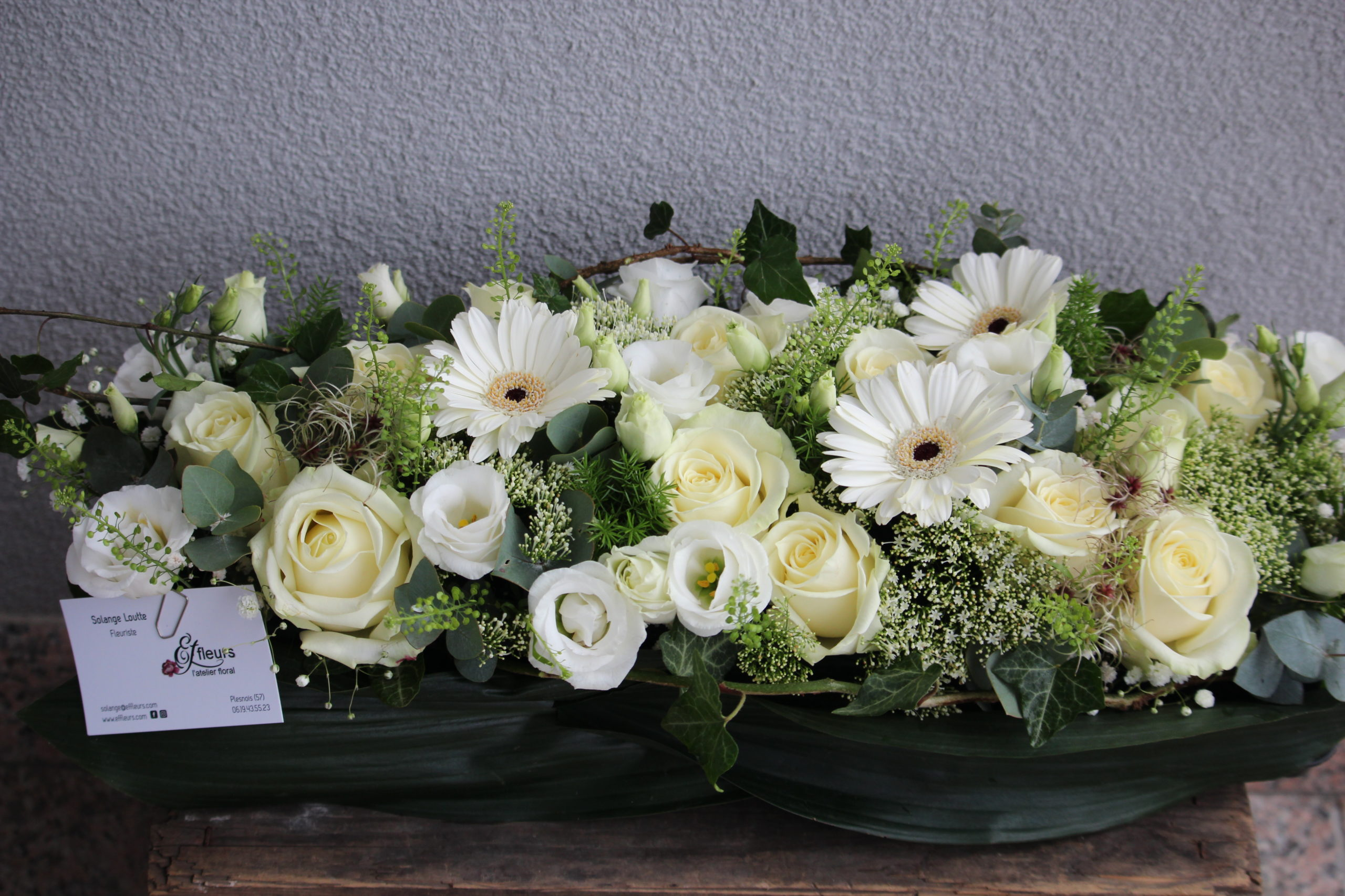 fleurs de deuil blanc fleuriste metz effleurs