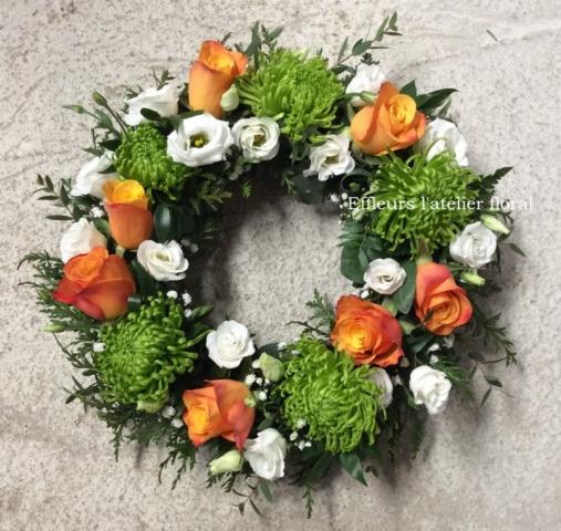 fleurs deuil couronne fleuriste metz effleurs