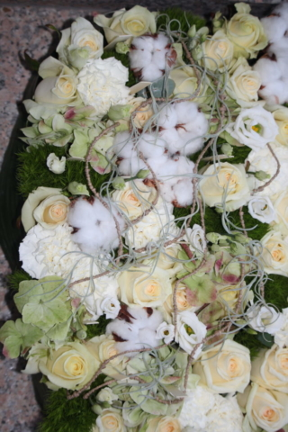 fleurs enterrement blanc fleuriste woippy effleurs