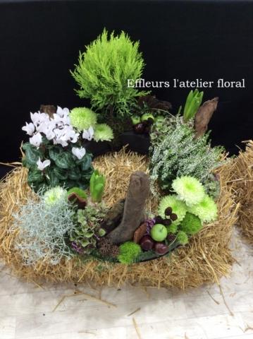gerbe de fleurs plantes fleuriste woippy effleurs