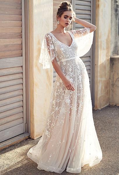 Robe mariée bohème - Effleurs