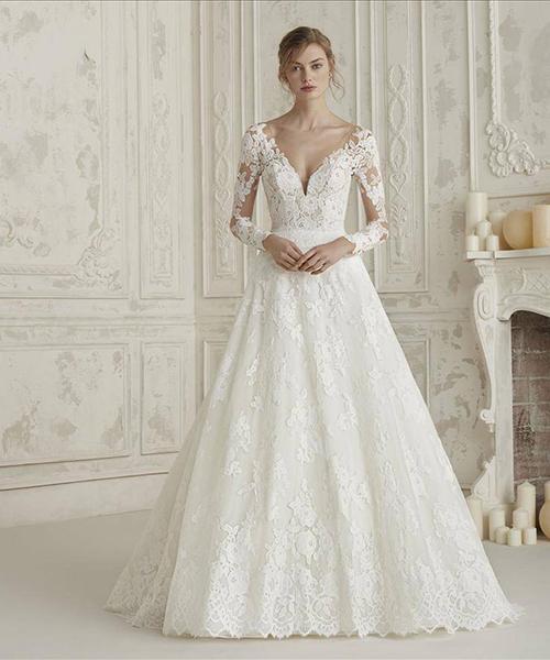 Robe mariée classique - Effleurs