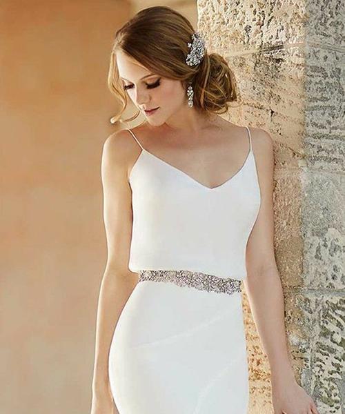 Robe mariée élégante - Effleurs