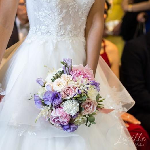Bouquet romance - Effleurs