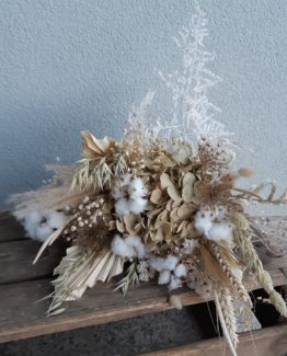Bouquet Adèle fleurs séchées - Effleurs